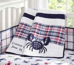 crab madras nursery bedding pottery