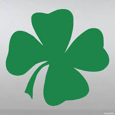 Decal Clover Shamrock For Good Luck Buy Vinyl Decals For Car Or Interior Decal Factory Stickerpro Different Colors And Sizes Is Avalable Free World Wide Delivery
