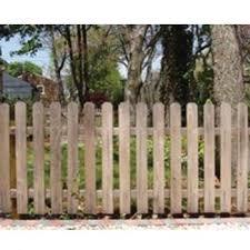 Cedar Picket Fence Jefferson Style 4 High X 80 Linear Feet Wayside Fence Company