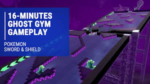 Pokemon Sword & Shield - 16-Minutes of Battling in the Ghost Gym ...
