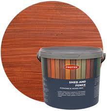 Shed Fence Stain Cedar Protek Wood Stain