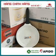 Chảo chống dính bếp từ, chảo từ men Đức Rapido 20cm, 24cm, 28cm đáy  phẳng,thân và đáy chảo bằng nhôm đúc nguyên khối giảm chỉ còn 215,000 đ