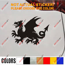 Anglo Saxon White Dragon Decal Sticker England English Car Vinyl Pick Size J Car Stickers Aliexpress