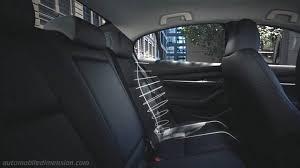 mazda 3 sedan dimensions and boot space
