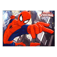 Marvel 4 X 6 Spider Man Indoor Kids Area Rug In The Rugs Department At Lowes Com