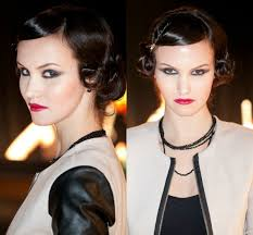 hair and makeup with an old hollywood