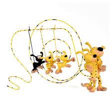 Figurines - The Marsupilami Couple and their 3 Children (Leblon ...