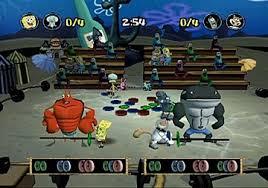 spongebob spongebob squarepants battle