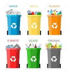 Resultado de imagen de contenedores de basura colores