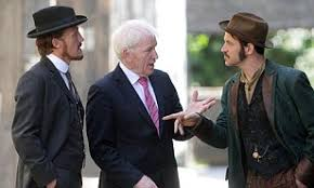 Jerome Flynn and Adam Rothenberg show Irish Minister for Arts ...