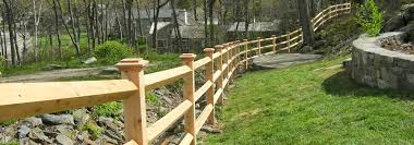 Main Line Fence Rail Fence Design And Installation In Maine