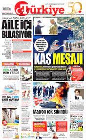 Türkiye Gazetesi 14 Eylül 2020 Anasayfası - Haber3
