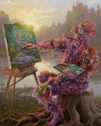 Paintings by Adrian Cox – Babylon Burning Media Center