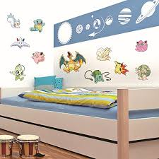Pokemon Wall Decals Room Decorations Pikachu Pokeball Decor Stickers For Kids Boys Girls Pokemon Sticker Iwantpokemon Com