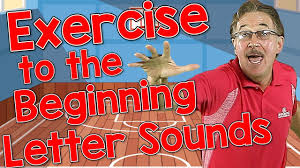 exercise to the beginning letter sounds
