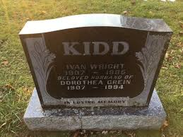 Ivan Wright Kidd (1907-1985) - Find A Grave Memorial