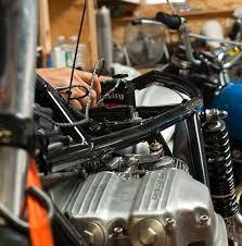 custom honda cb750 wiring up the
