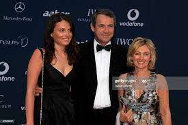 Lucy Hansen, former footballer Alan Hansen and his wife Janet Hansen...  News Photo - Getty Images