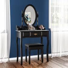 nishano dressing table 1 drawer stool