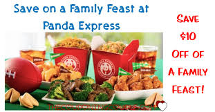 $10 Off Family Feast at Panda Express ...