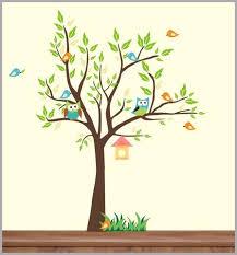 Forest Wall Decals Woodland Wall Decals Forest Nursery Decor Nurserydecals4you