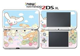 Cinnamoroll And Friends Cute Kitty Bunny Hello Video Game Vinyl Decal Skin Sticker Cover For Nintendo New 2ds Xl System Console Wantitall
