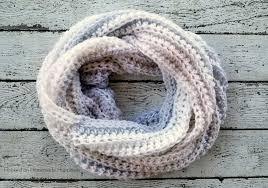 arctic infinity scarf crochet pattern