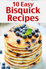 10 easy homemade bisquick recipes