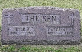 Indiana Dillmans: Tombstone Tuesday - Peter Adam Theisen