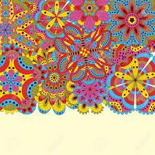Fondo Floral Hecho De Muchos Mandalas Bueno Para Bodas Tarjetas