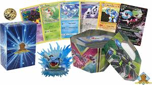 100 Assorted Pokemon Cards with 1 Full Art Mega Card 1 Coin and Pokemon  Figure! Comes in Empty Pokemon Tin Includes Golden Groundhog Deck Box:  Amazon.in: Beauty
