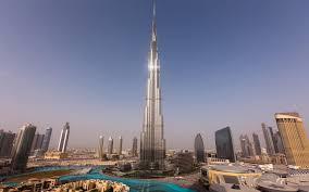 خلفية فندق برج خليفة دبي Hd الإمارات العربية المتحدة عريضة