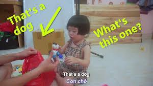 Dạy Trẻ 2 Tuổi Tiếng Anh Giao Tiếp - Chủ đề Con Vật - Màu Sắc ...