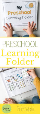 Printable Learning Folder for the Early Years -