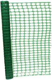 Amazon Com Bisupply 4 Ft Safety Fence 100 Ft Plastic Fencing Roll For Construction Fencing Pet Fencing And Event Fencing Green Home Kitchen