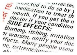Image result for list of side effects for rx