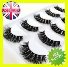 3d mink eyelashes luxury 5 pairs wispy