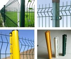 Green Metal Fence Posts Mako Com Co