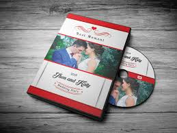 wedding dvd cover 7 color options by