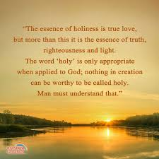 only god is holy truth quotes