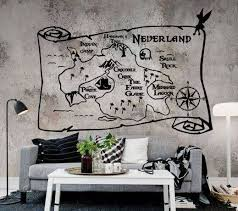 Neverland Map Wall And Car Decals Multiple Sizes Baby Infant Toddler Girl S Boy S Women S Men S Unisex Peter Pan Wendy Neverland Map Wall Decals Disney Decals