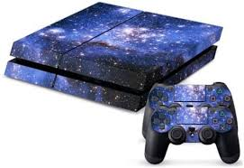 Amazon Com Starry Sky Galaxy Vinyl Skin Decal Cover For Sony Playstation 4 Ps4 Console Sticker