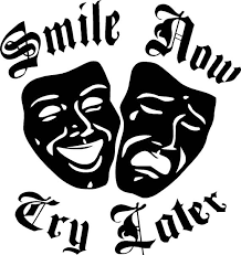 Smile Now Cry Later Vinyl Decal Sticker Etsy