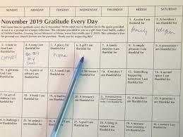 Gratitude Every Day, 2019 – Traci Smith