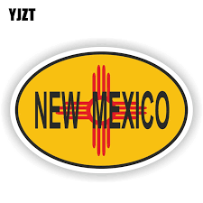 Yjzt 13cm 8 7cm New Mexico Flag Country Code Decal Bike Car Sticker 6 1584 Car Stickers Aliexpress