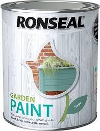 Ronseal General Purpose Garden Paint Sage 750ml Amazon Co Uk Diy Tools