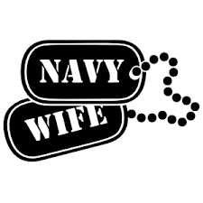 Us Navy Wife Dogtags