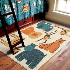Shop Carolina Weavers Playroom Collection Circus Multi Area Rug 3 10 X 5 2 3 10 X 5 2 On Sale Overstock 9616807