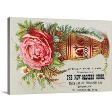 florist trade card c 1890