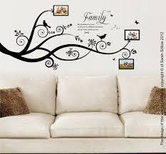 Family Tree Vinyl Wall Art Branch Large Small Design Decals Sticker Birch Etsy Nursery Vamosrayos
